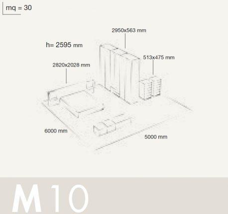 Bedrooms Colombini Volo M10