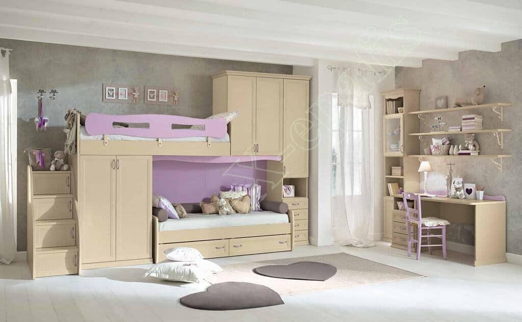 Kids Bedroom Colombini Arcadia AC133