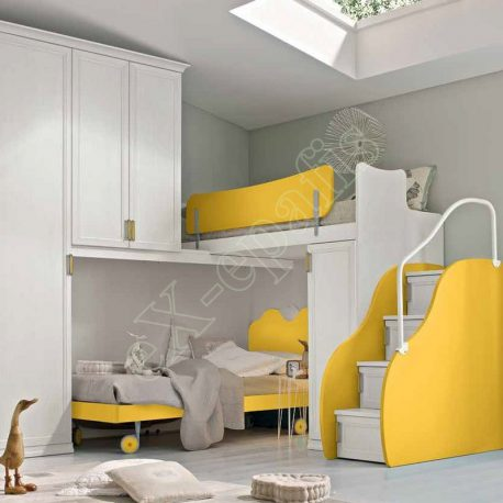 Kids Bedroom Colombini Arcadia AC135