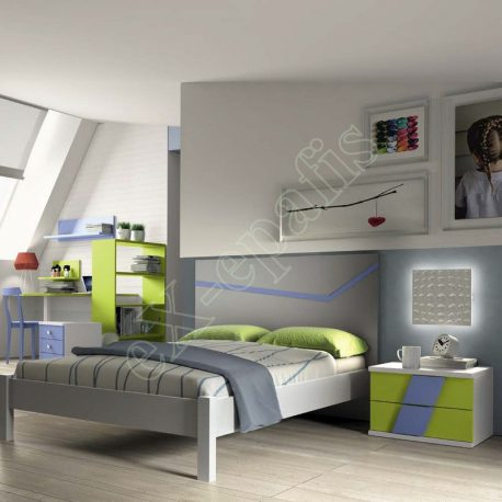 Kids Bedroom Colombini Volo C01