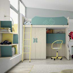 Kids Bedroom Colombini Volo C16