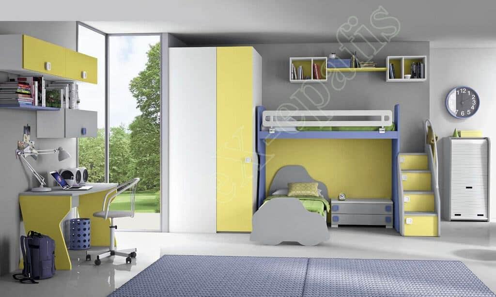 Kids Bedroom Colombini Volo C19