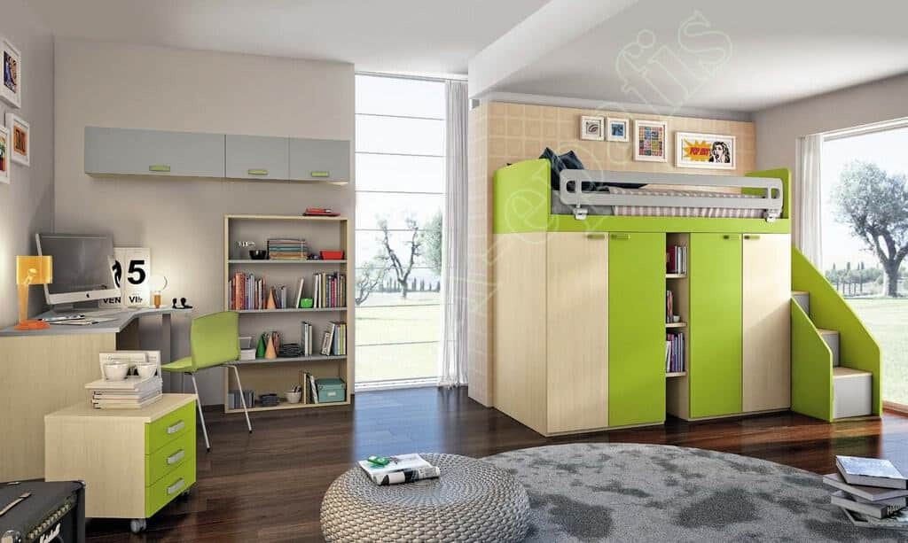 Kids Bedroom Colombini Volo C20
