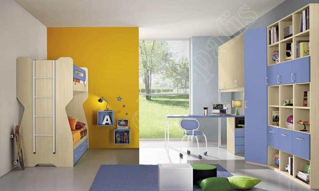 Kids Bedroom Colombini Volo C21
