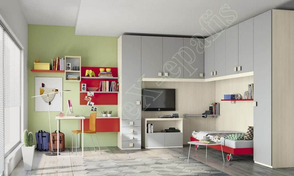 Kids Bedroom Colombini Volo C23