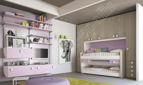 Kids Bedroom Colombini Volo C24
