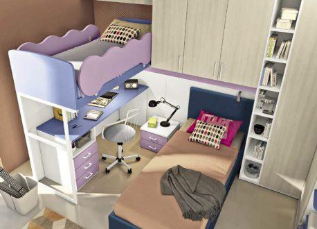 Kids Bedroom Colombini Volo C37