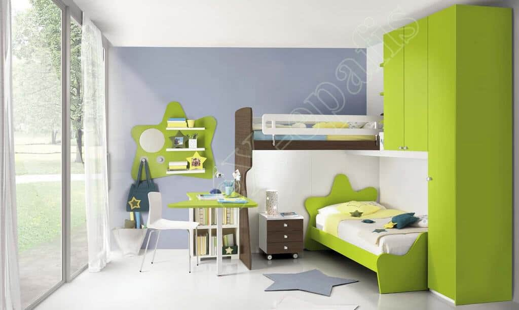 Kids Bedroom Colombini Volo C38