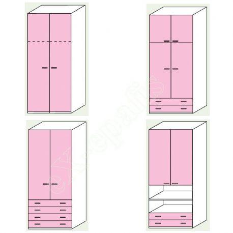 Wardrobe Volo Colombini 2Phyllh-103 1