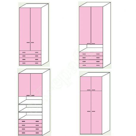 Wardrobe Volo Colombini 2Phyllh-103 2
