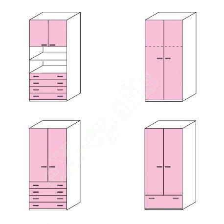 Wardrobe Volo Colombini 2Phyllh-90 1
