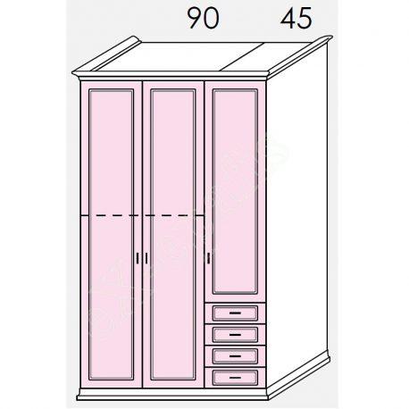 Wardrobe Arcadia Colombini R20.44L
