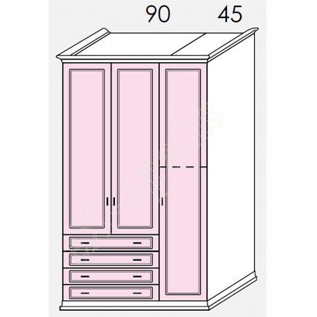Wardrobe Arcadia Colombini R20.45R