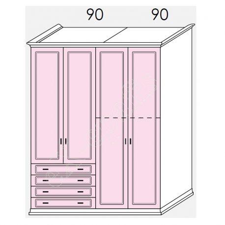 Wardrobe Arcadia Colombini R20.65Z