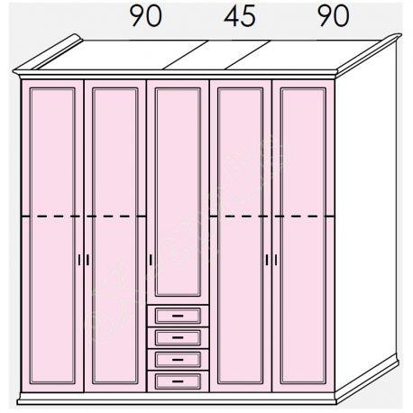 Wardrobe Arcadia Colombini R20.84C