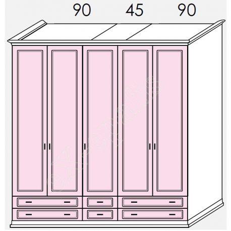Wardrobe Arcadia Colombini R20.85H