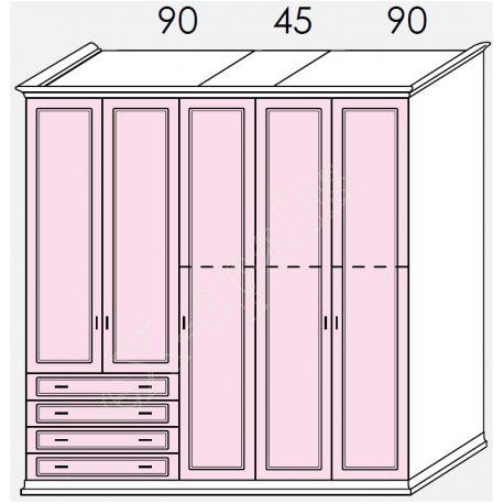 Wardrobe Arcadia Colombini R20.86P