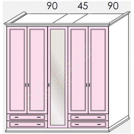 Wardrobe Arcadia Colombini R20.93B