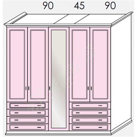 Wardrobe Arcadia Colombini R20.94G