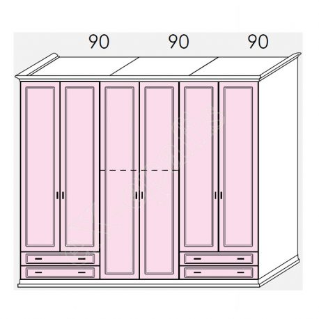 Wardrobe Arcadia Colombini R21.04W