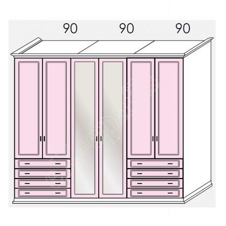 Wardrobe Arcadia Colombini R21.15F