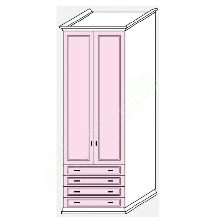 Wardrobe Arcadia Colombini R30.26Q