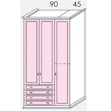 Wardrobe Arcadia Colombini R30.49Q