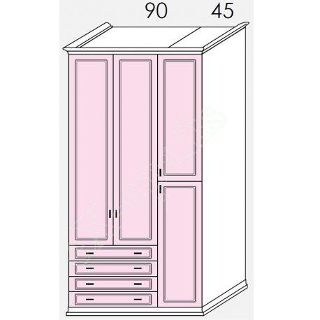 Wardrobe Arcadia Colombini R30.50V