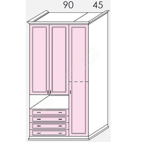 Wardrobe Arcadia Colombini R30.52F