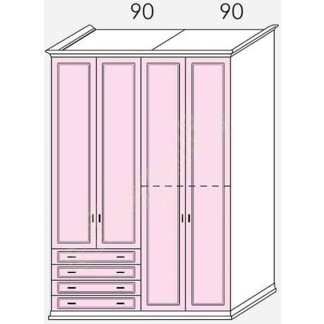 Wardrobe Arcadia Colombini R30.65B