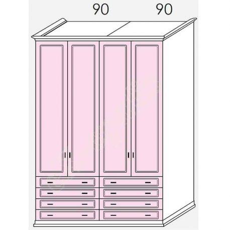 Wardrobe Arcadia Colombini R30.67N