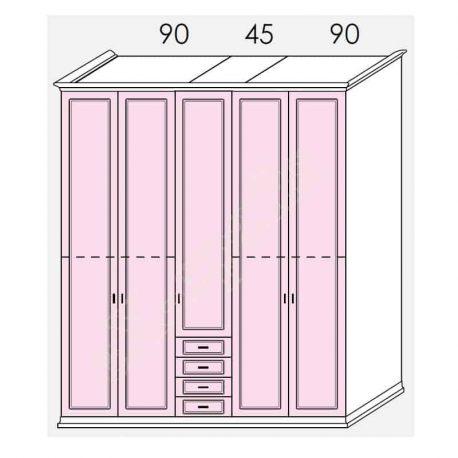 Wardrobe Arcadia Colombini R30.86R