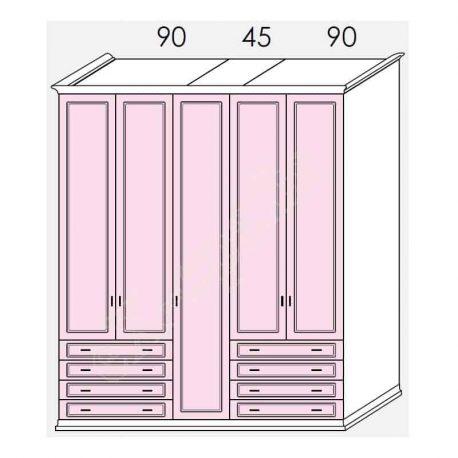 Wardrobe Arcadia Colombini R36.78S