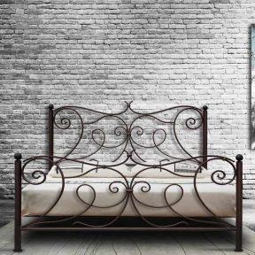 Χειροποίητο Μεταλλικό Κρεβάτι Αθηνά