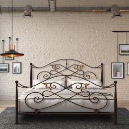 Χειροποίητο Μεταλλικό Κρεβάτι Αφροδίτη